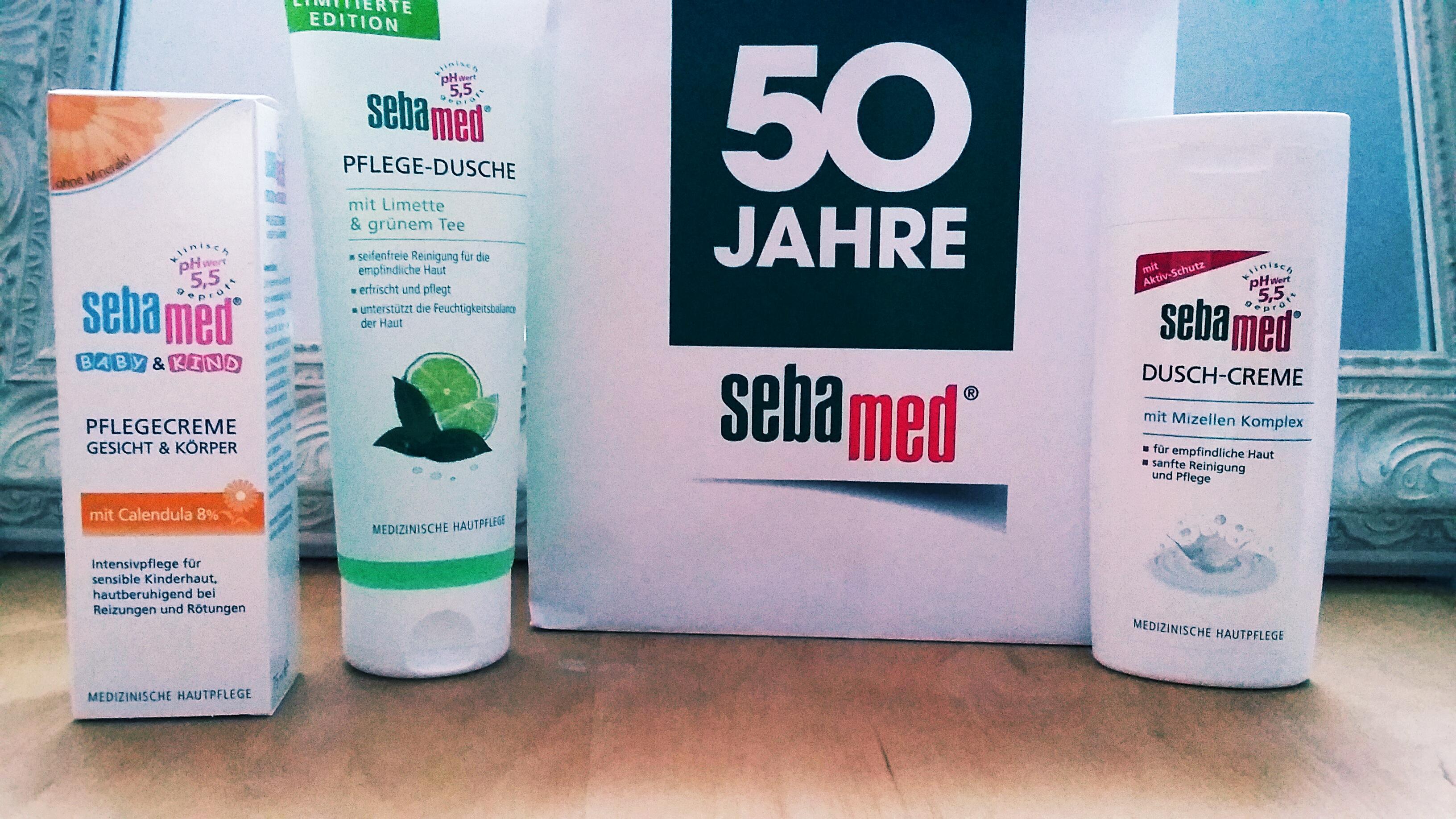 sebamed wird 50 Jahre – das wird gefeiert mit vielen neuen Produkten!