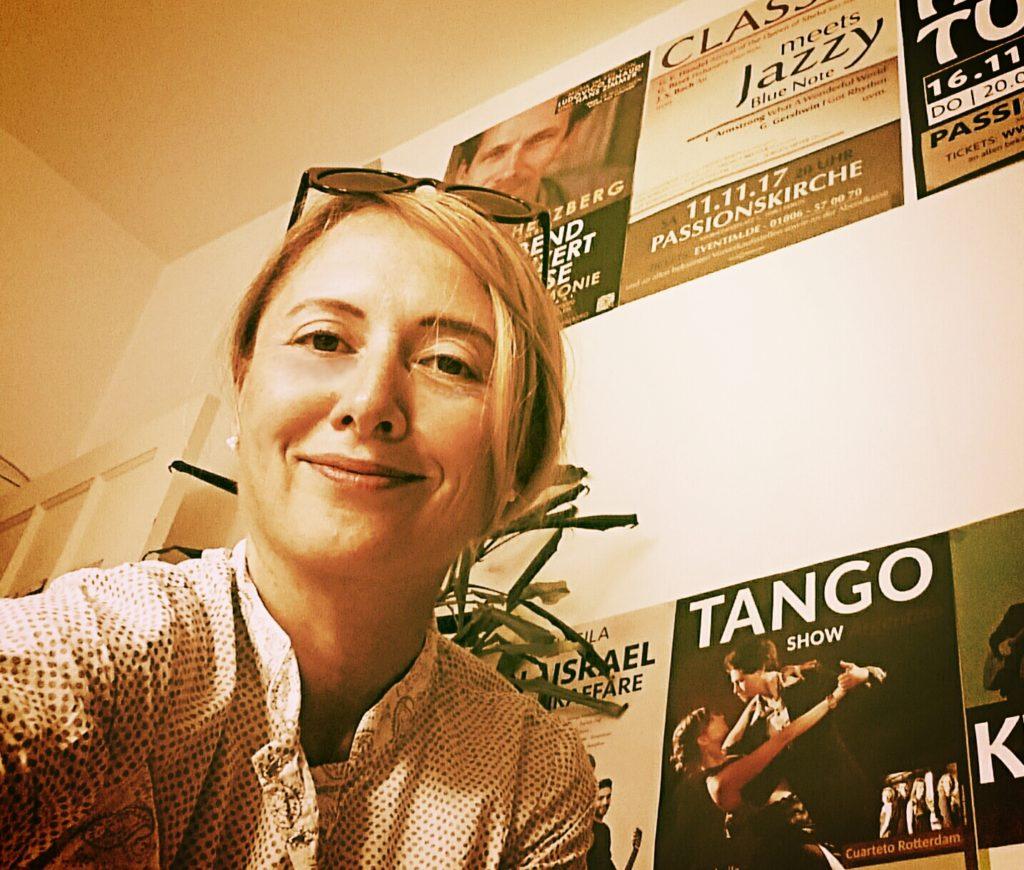 Foto von Spreeblogger. Mein Name ist Viviane Sandra Schmidt.