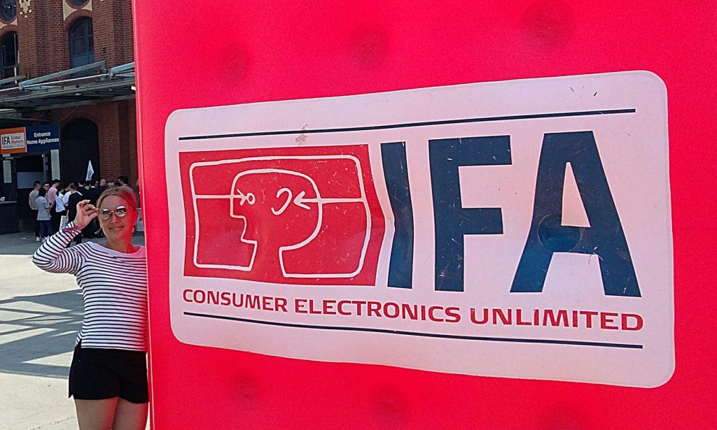 IFA 2018 - Logo der Elektronikmesse