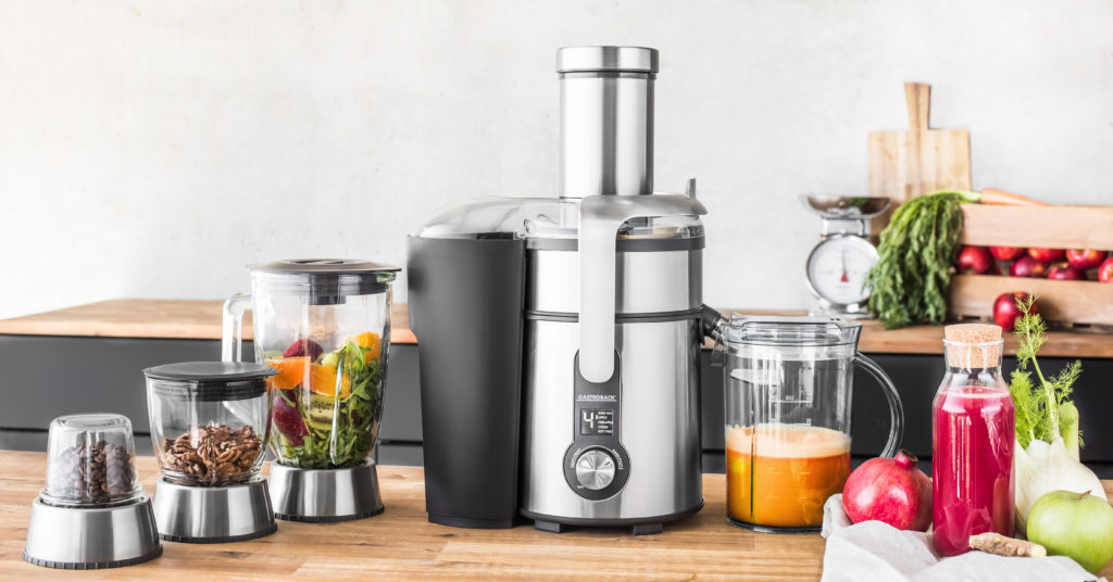 Design_Multi_Juicer_Digital_Plus der Firma Gastroback - Digitales Multitalent im Haushalt