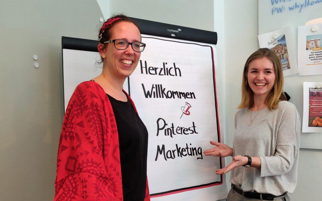 Nathalie und Franziska von Skana Media in der Why Akademie Berlin