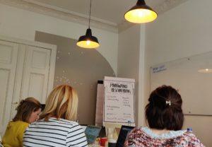 Pinterest Workshop in der Why Akademie mit Skana Media - viel gelernt mit tollen Menschen