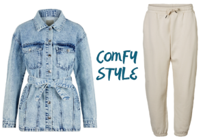 Comfy Style - in der Großstadt gehts am besten bequem und lässig durch den Tag.