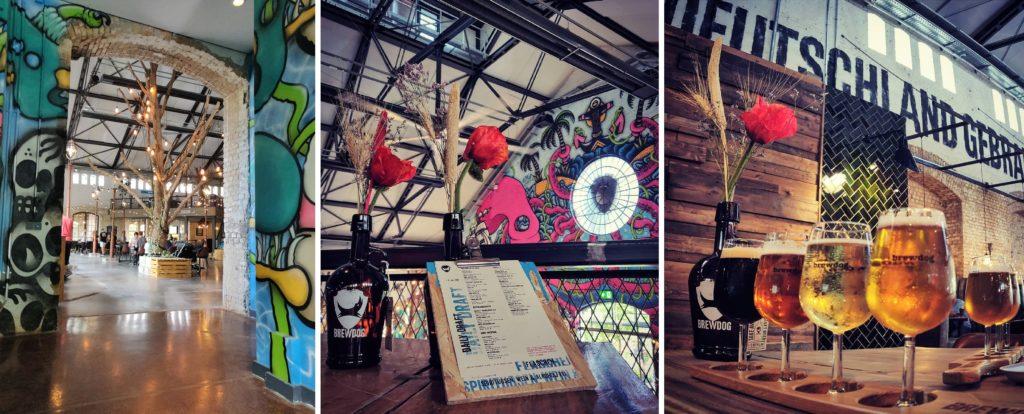 BrewDog Berlin und das Restaurant DogTap Berlin im coolen Graffiti-Style
