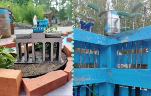 Neues Highlight auf dem Außengelände: Die Minigolf-Anlage