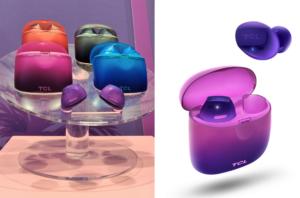 InEar Kopfhörer von TCL im bunten Design