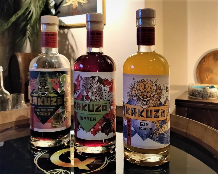 Kakuzo Infused Vodka - 3 tolle Spirituosen Made in Berlin