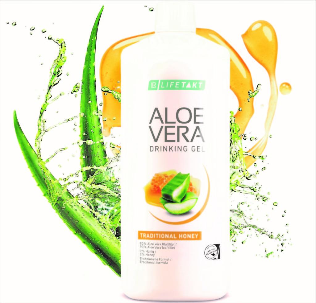 Aloe Drinking Gel - das Gesundheits- und Beauty Wunder zum Trinken.
