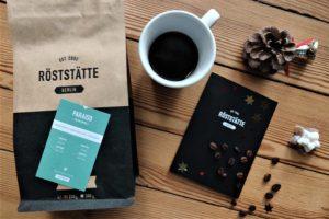 Kaffee von Röststätte Berlin - Gemütlichkeit verschenken