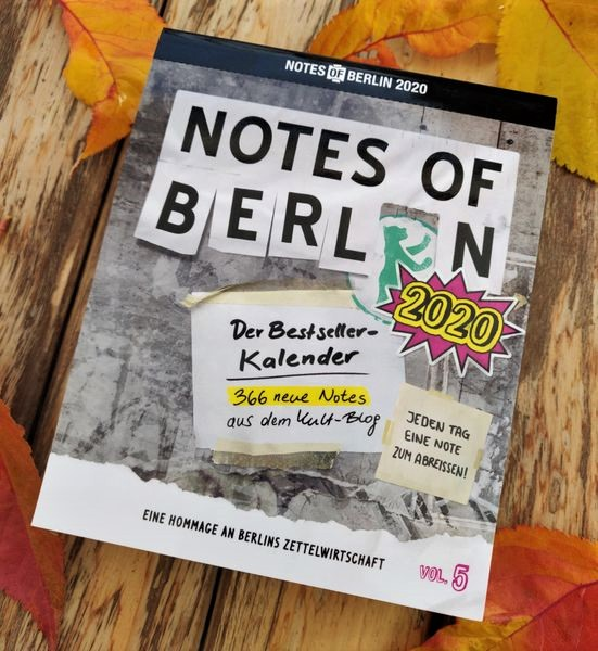 Notes of Berlin - Der Kalender 2020
