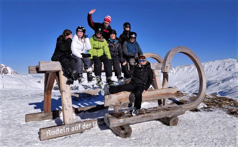 Spaß im Schnee nicht nur auf der Piste sondern auch beim Rodeln