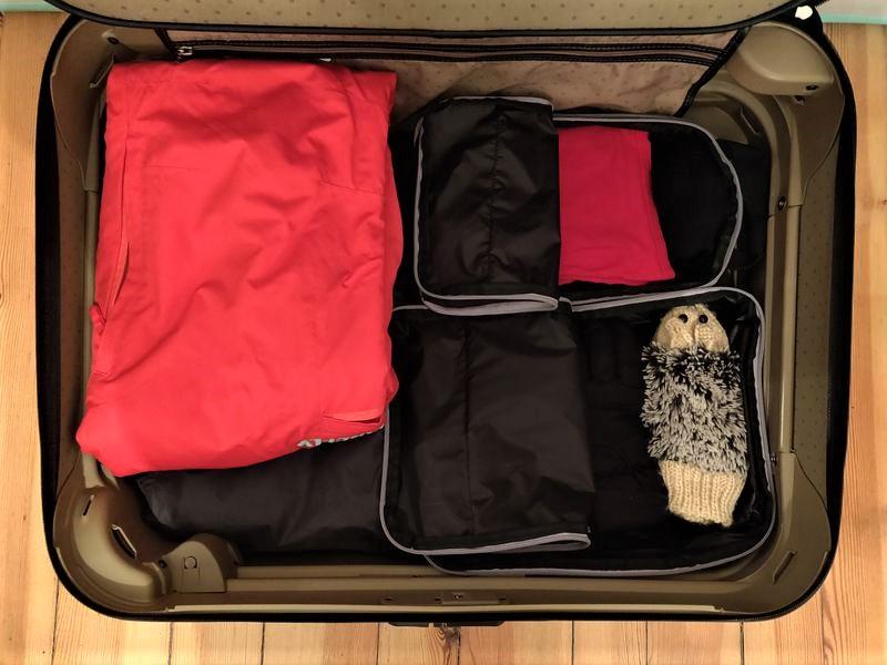 Wirklich cool, was Packtaschen so können - Ordnung und Kompression im Gepäck.