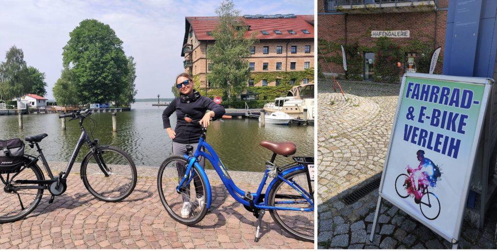 Stadthafen Neustrelitz Fahrradverleih