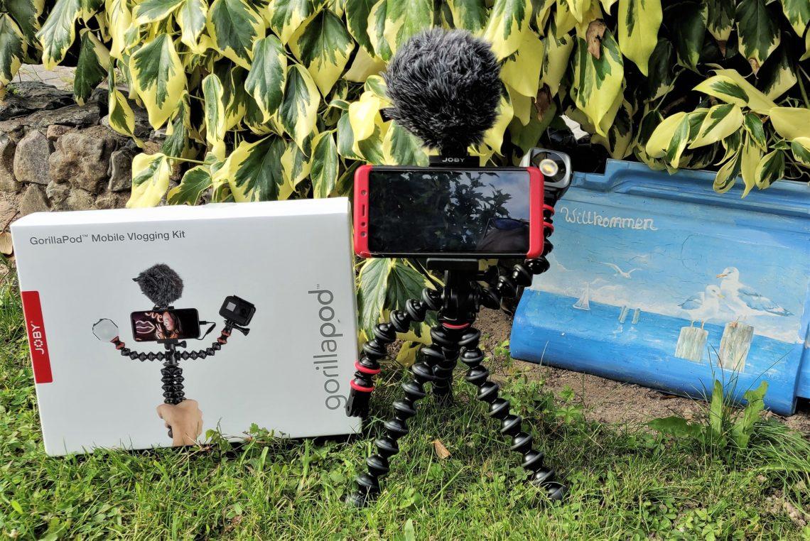 Reise an die Ostsee mit dem Vlogging-Kit von Joby