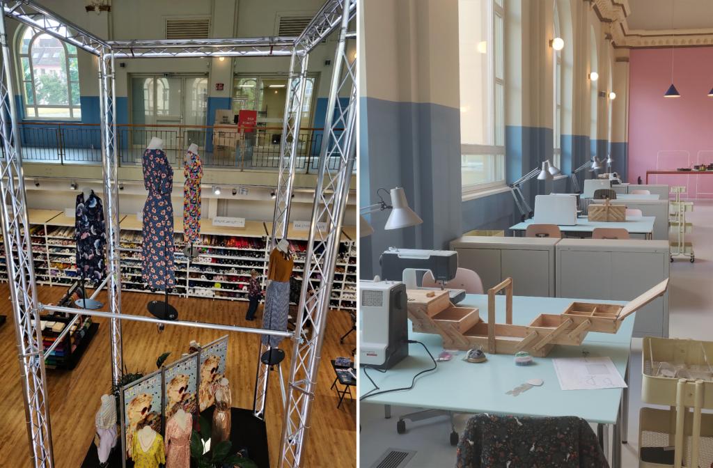 Der Selfmade Store in Berlin Tempelhof - ein Paradies für Kreative und Stoffefans