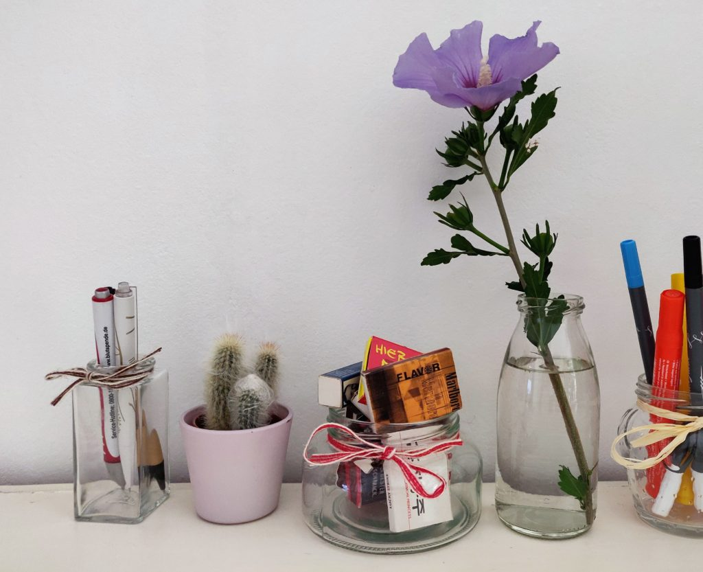 Im Online Shop Gläser und Flaschen gibt es Deko- und Einmachzubehör