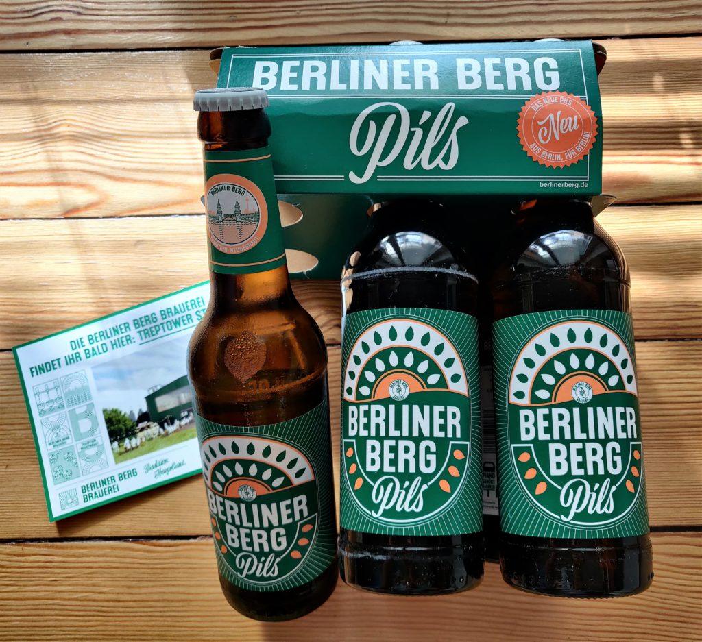 Berliner Berg Pils aus der Brauerei Berliner Berg in Neukölln