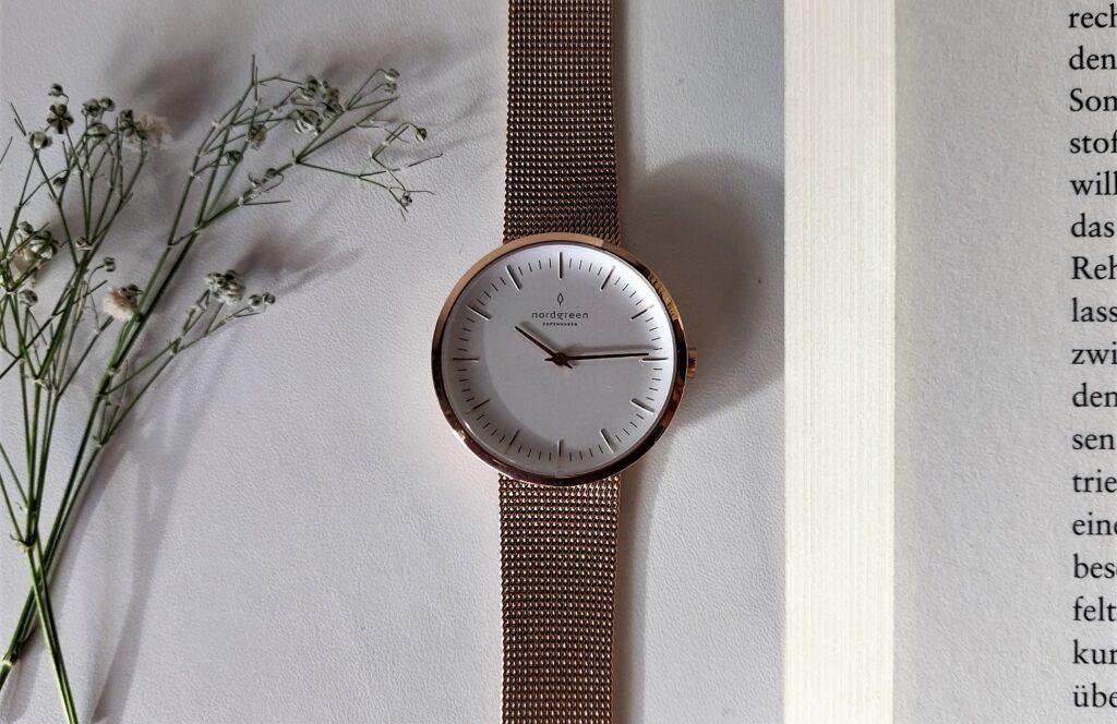 Die Damenuhr Infitnity Rosegold Mesh - meine neue Uhr und LIeblingsaccessoire