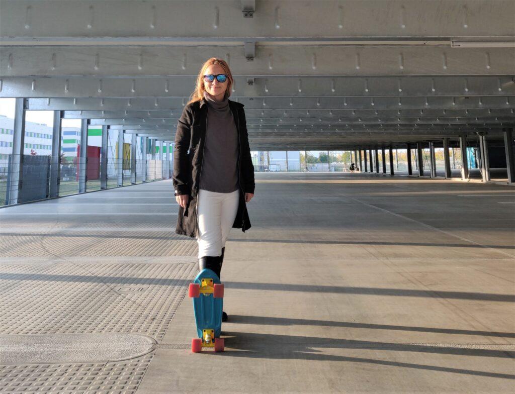Für Abenteuerlustige aber auch die neue Herausforderung: Skateboarding