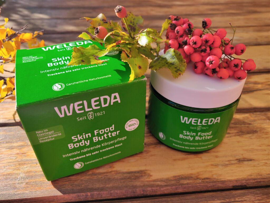Ade trockene Haut im Winter mit WELEDA Hautpflege - zum Verschenken und selber verwöhnen
