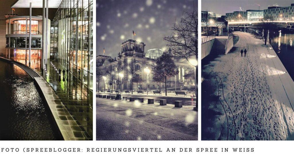 Fototour in weiß im Berliner Regierungsviertel