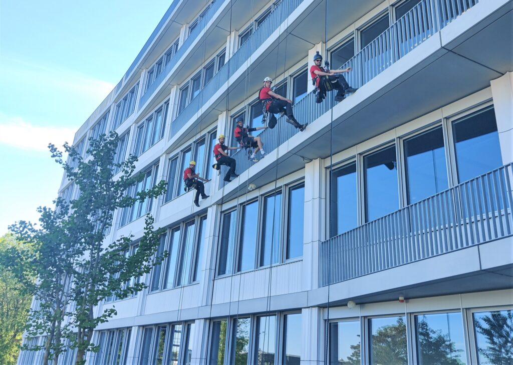 Neuer Bürokomplex am Ostkreuz BHUB
