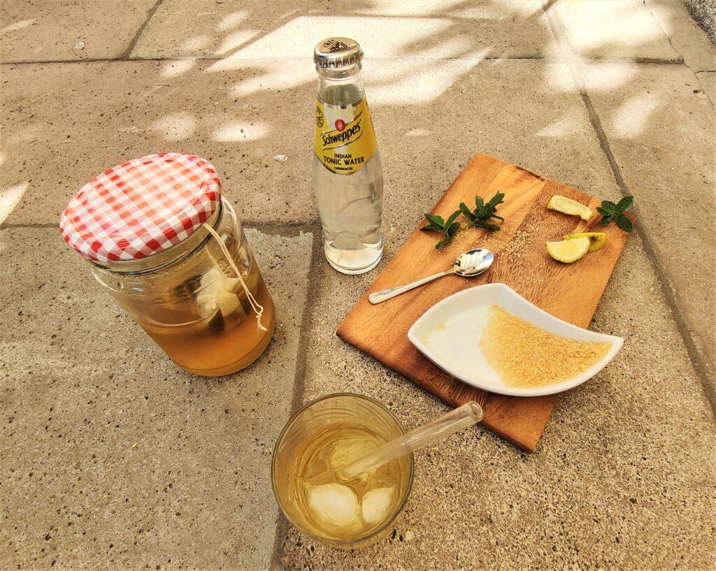 Paper and Tea - und ein Mocktail Rezept