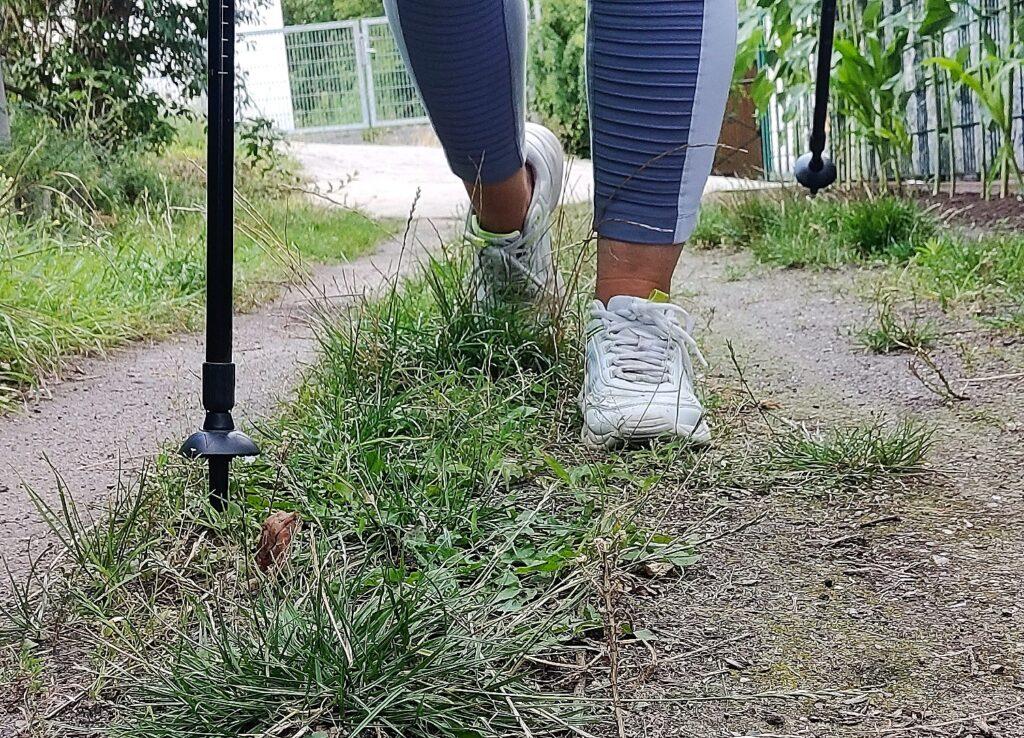 Schrittesammeln geht ganz einfach – ob Spazierengehen, Nordic Walking oder Joggen – jedes Level ist erlaubt.