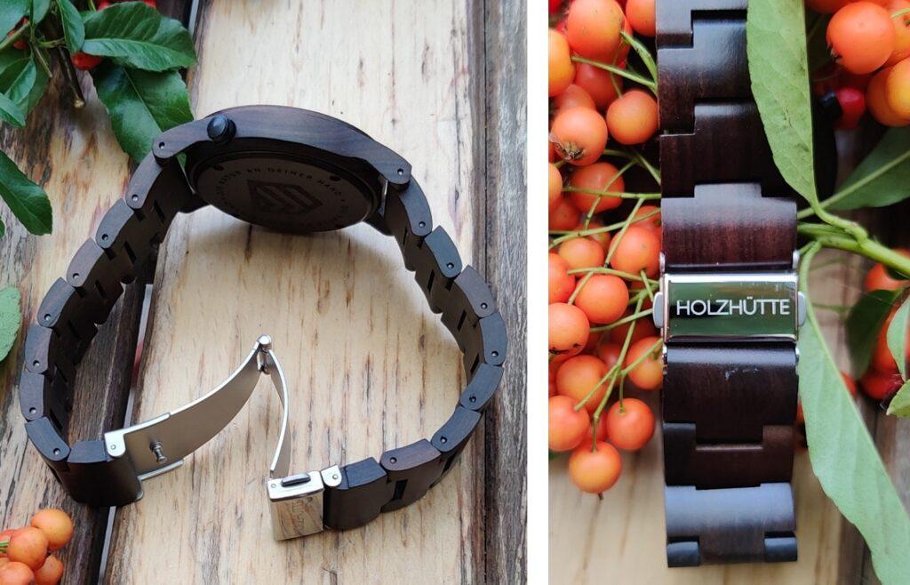 Foto (spreeblogger): Armbänder aus Naturholz mit sicherem Verschluss
